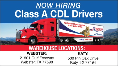 Now Hiring OTR Drivers in Texas!